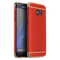 Husa Samsung Galaxy S7 Edge - iPaky 3 in 1 Red