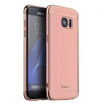 Husa Samsung Galaxy S7 Edge - iPaky 3 in 1 Rose Gold