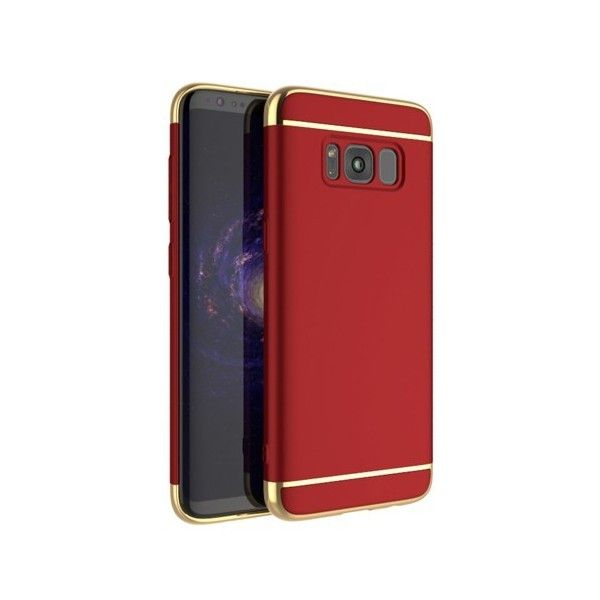 Husa Samsung Galaxy S8 - iPaky 3 in 1 Red