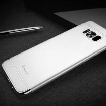 Husa Samsung Galaxy S8 - iPaky 3 in 1 Silver