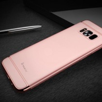 Husa Samsung Galaxy S8 Plus - iPaky 3 in 1 Rose Gold