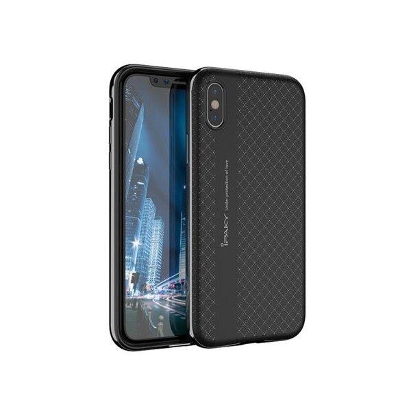 Husa iPhone X - iPaky Bumblebee Black