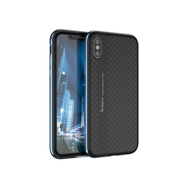 Husa iPhone X - iPaky Bumblebee Blue