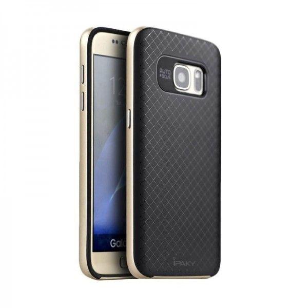Husa Samsung Galaxy S7 - iPaky Bumblebee Gold