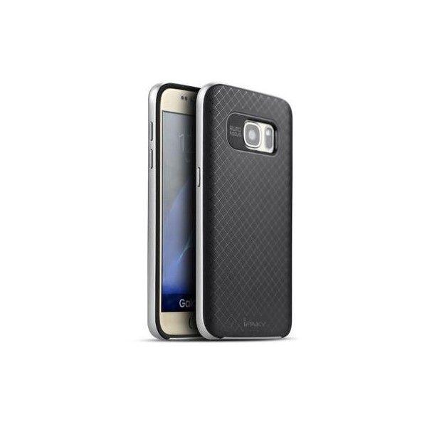 Husa Samsung Galaxy S7 - iPaky Bumblebee Silver