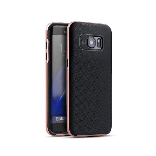 Husa Samsung Galaxy S7 Edge - iPaky Bumblebee Rose Gold