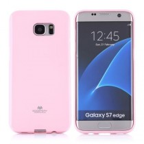 Husa Samsung Galaxy S7 Edge -  Mercury Jelly Case Light Pink
