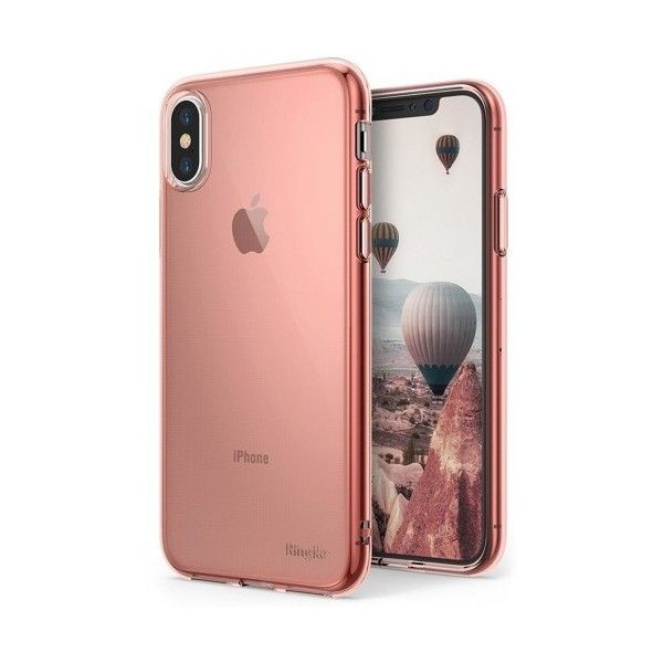 Husa iPhone X - Ringke Air Pink