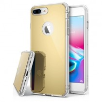 Husa iPhone 7 Plus - Ringke Mirror Gold