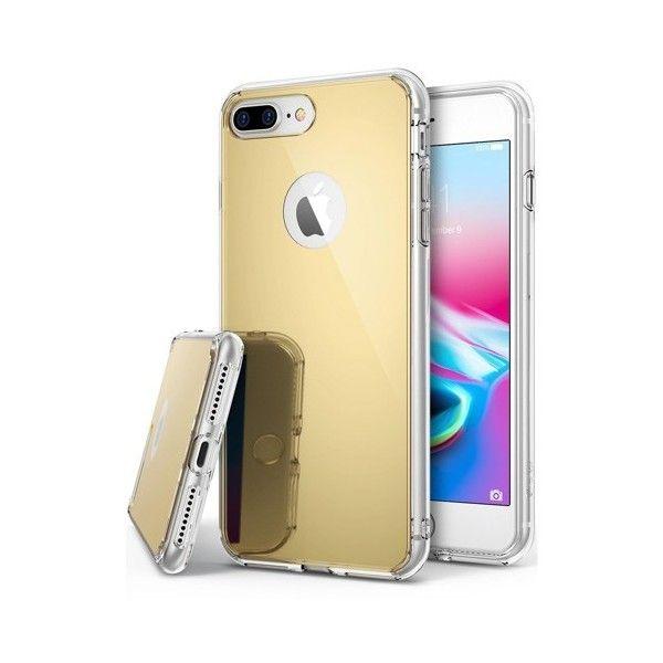 Husa iPhone 7 Plus - Ringke Mirror Gold