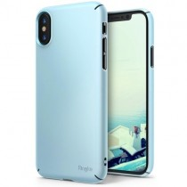Husa iPhone X - Ringke Slim Blue