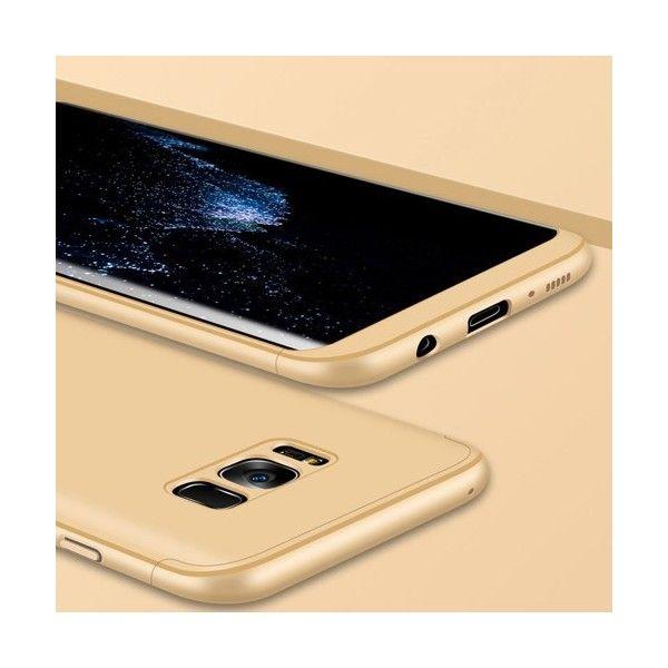 Husa Samsung Galaxy S8 - Protectie 360 grade Gold