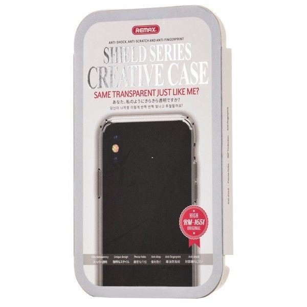 Husa iPhone X - Remax Crystal Shield transparenta