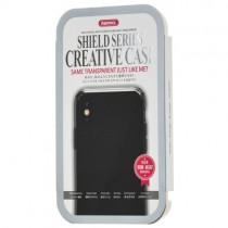 Husa iPhone X - Remax Crystal Shield Grey