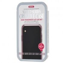 Husa iPhone X - Remax Crystal Shield Pink