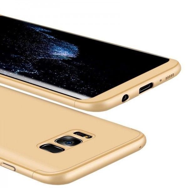 Husa Samsung Galaxy S8 Plus - Protectie 360 grade Gold