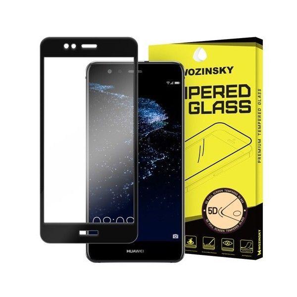 Folie sticla Huawei P10 Lite - Wozinsky PRO+ 5D Full Screen cu rama Black
