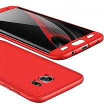 Husa Samsung Galaxy S7 Edge - Protectie 360 grade Red