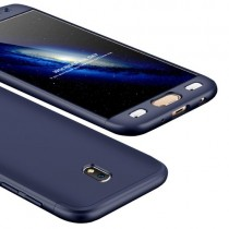 Husa Samsung Galaxy J3 2017 - Protectie 360 grade Blue