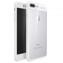 Husa iPhone 7 Plus / iPhone 8 Plus - iPaky Frame White