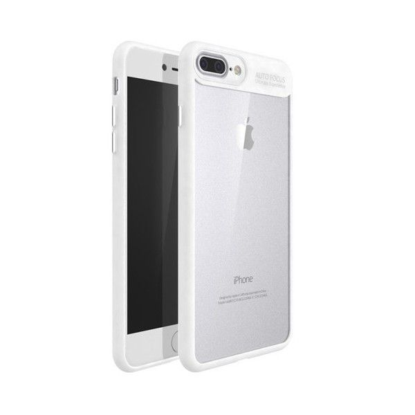 Husa iPhone 7 Plus / iPhone 8 Plus - iPaky Frame White