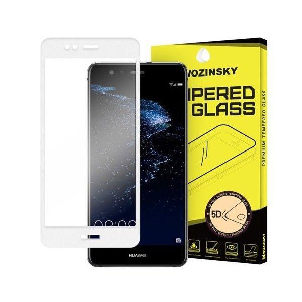 Folie sticla Huawei P10 Lite - Wozinsky PRO+ 5D Full Screen cu rama White