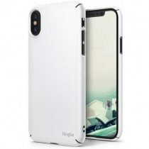 Husa iPhone X - Ringke Slim White