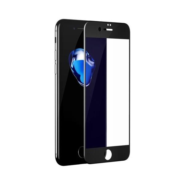 Folie sticla iPhone 7 / iPhone 8 - Baseus Pet Soft 3D Anti Blue Light Black