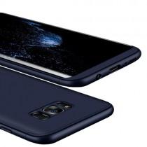 Husa Samsung Galaxy S8 Plus - Protectie 360 grade Blue