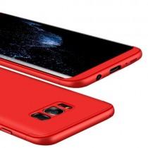 Husa Samsung Galaxy S8 Plus - Protectie 360 grade Red