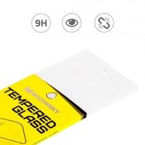 Folie sticla iPhone X Fata+Spate - Wozinsky Full Screen cu rama aluminiu Gold