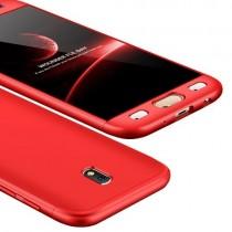 Husa Samsung Galaxy J3 2017 - Protectie 360 grade Red