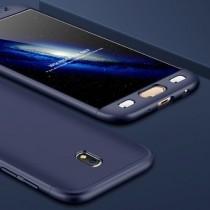 Husa Samsung Galaxy J7 2017 - Protectie 360 grade Blue