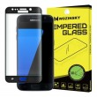 Folie sticla Samsung Galaxy S7 Edge - Wozinsky  3D cu rama Black Glitter