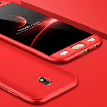 Husa Samsung Galaxy J7 2017 - Protectie 360 grade Red