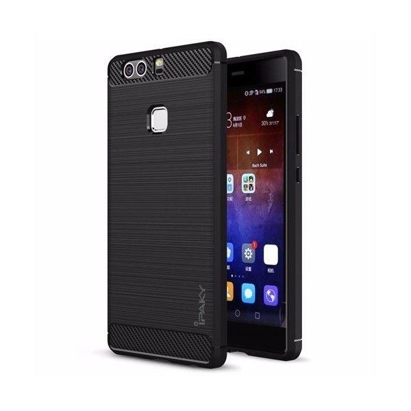Husa Huawei P9 - iPaky Slim Carbon Black