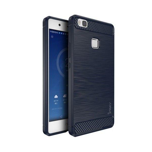 Husa Huawei P9 Lite - iPaky Slim Carbon Blue