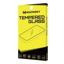 Folie sticla iPhone X Fata+Spate - Wozinsky  Full Screen cu rama aluminiu Silver