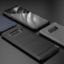 Husa Samsung Galaxy Note 8 - iPaky Slim Carbon Black