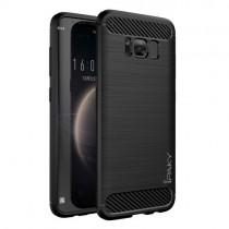 Husa Samsung Galaxy S8 - iPaky Slim Carbon Black