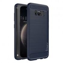 Husa Samsung Galaxy S8 - iPaky Slim Carbon Blue