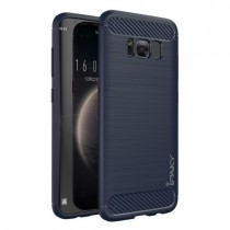 Husa Samsung Galaxy S8 Plus - iPaky Slim Carbon Blue