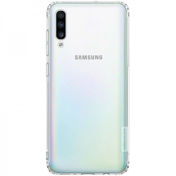 Husa Samsung Galaxy A70 Nillkin Nature UltraSlim Transparent