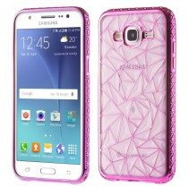 Husa Samsung Galaxy S7 Edge - Electroplating TPU Diamond Purple aspect metalic