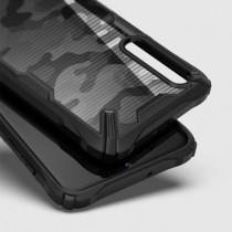 Husa Samsung Galaxy A70 Ringke Fusion X Design - Camo Black