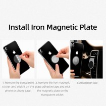 Suport Auto Pentru Telefon Magnetic USAMS Air Vent Clip -
